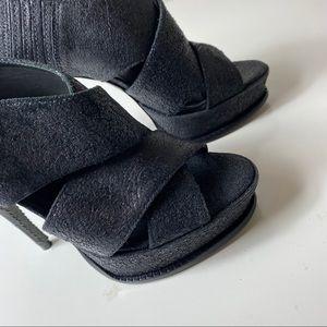 Black E-Milla Elizabeth and James Platform Heel